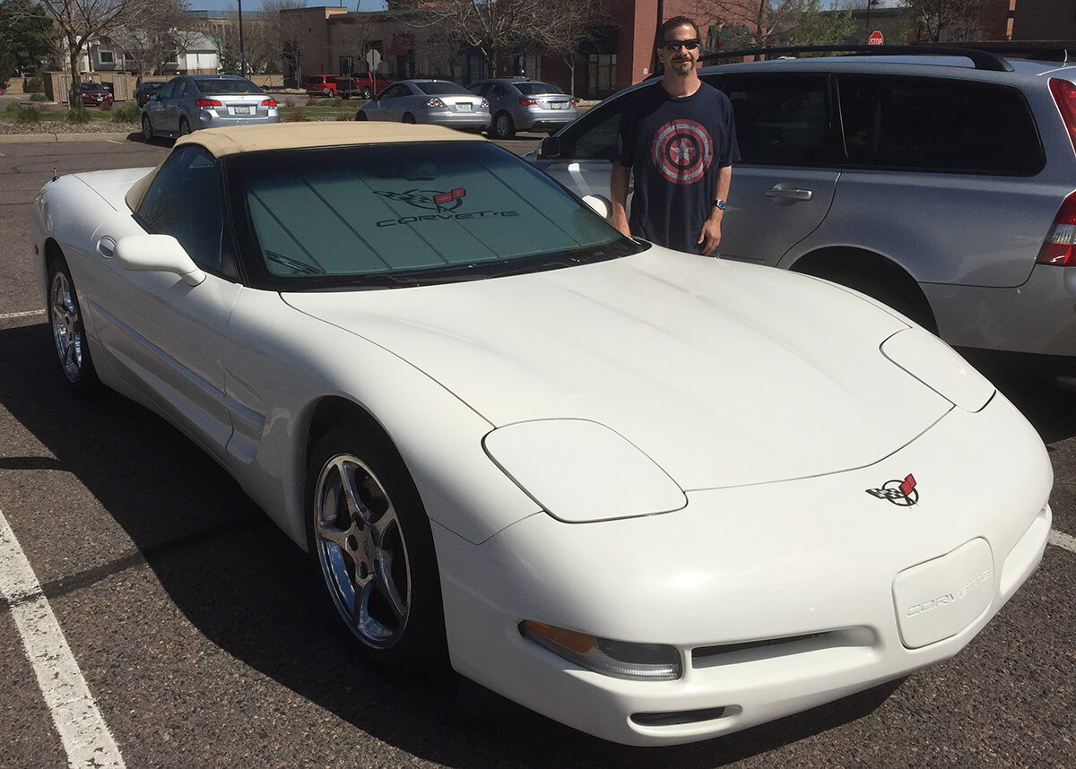 Joshua 2001 Corvette Convertible